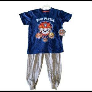 NWT Paw Patrol PJ Set Size 5
